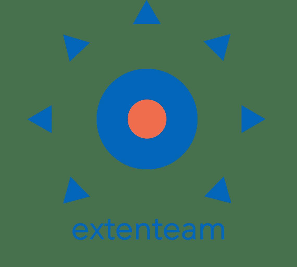high-res Extenteam Logo_Blue