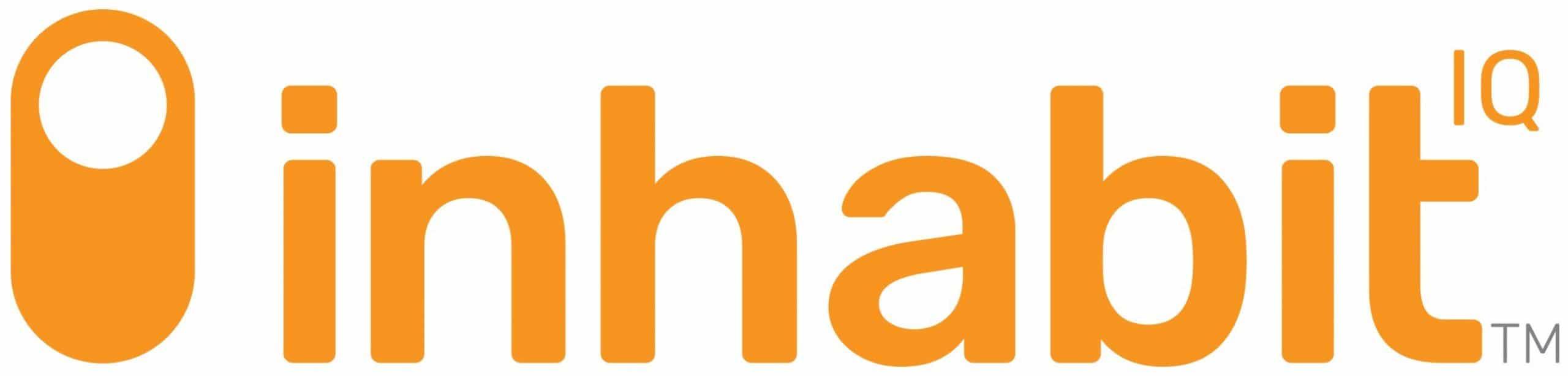 Inhabit IQ Orange Logo